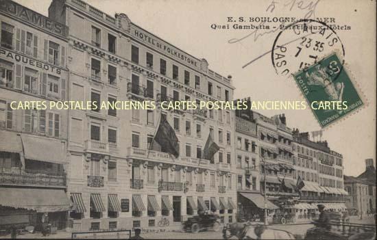 Cartes Postales Anciennes  Boulogne Sur Mer