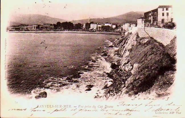 Pyrénées orientales  Banyuls Sur Mer
