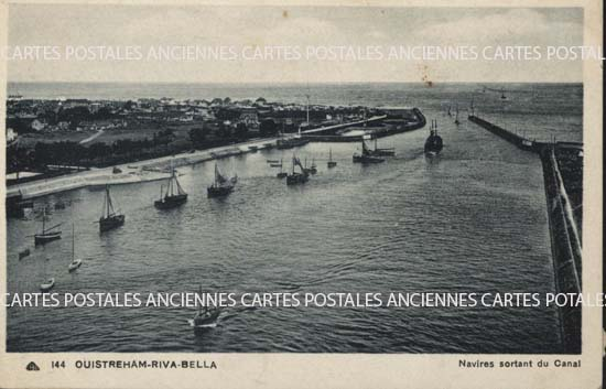 Cartes Postales Anciennes France Calvados  Ouistreham