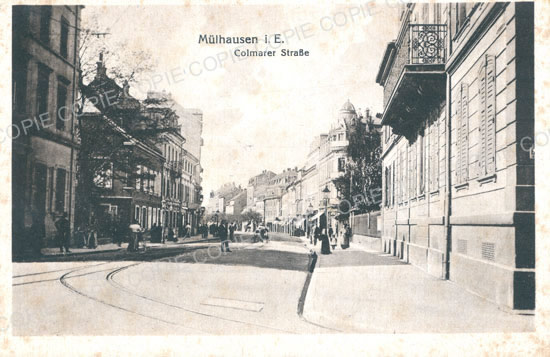 Cartes Postales Anciennes Haut rhin 68 Mulhouse