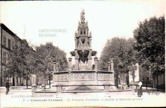 Cartes Postales Anciennes  Clermont Ferrand