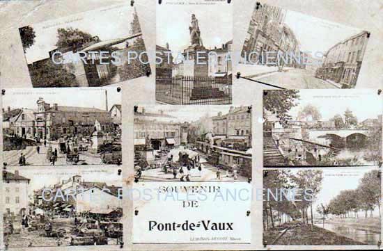 Cartes Postales Anciennes France Ain  Pont De Vaux