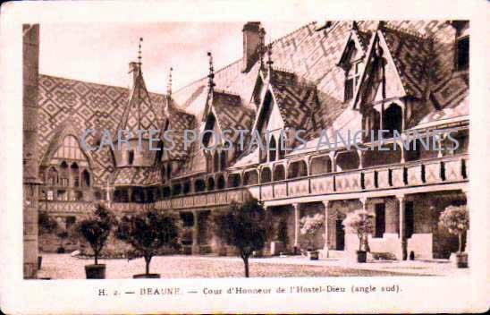Cartes Postales Anciennes France Côte d'or  Beaune