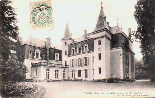 Old postcards teille france Teille