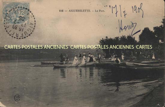 Old postcards aiguebelette le lac france Aiguebelette Le Lac