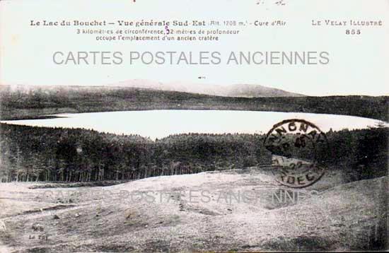 Cartes Postales Anciennes France Haute loire  Cayres