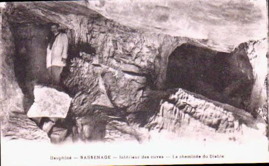 Cartes Postales Anciennes France Isère  Sassenage