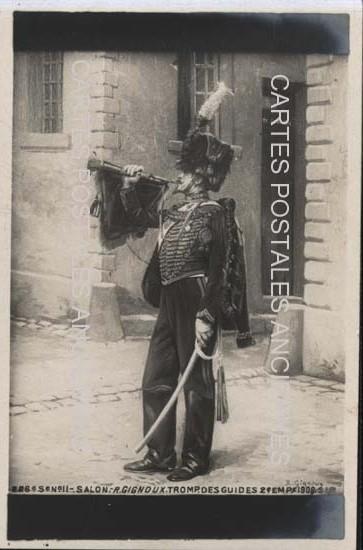 Cartes Postales Anciennes  tableau sculpture  tableau militaire Paris 3eme