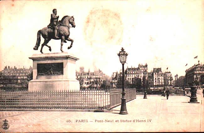 Old postcards paris france Paris 6eme