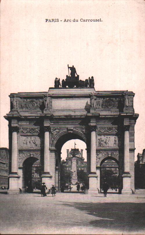 Old postcards paris france Paris 1er
