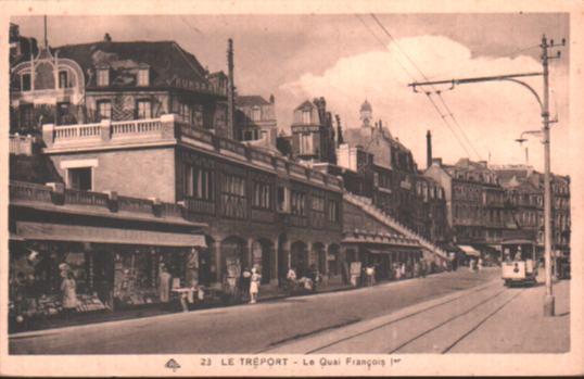 Old postcards le treport france Le Treport