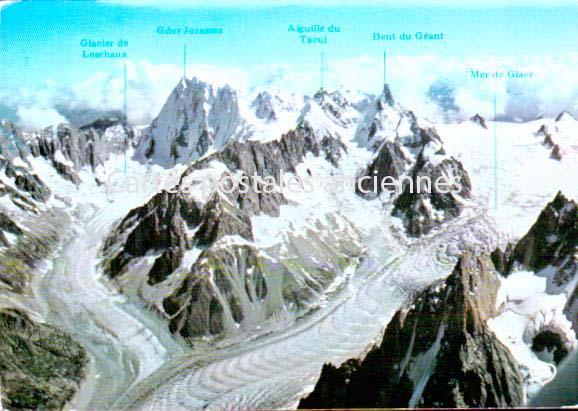 Cartes Postales Anciennes France  Chamonix Mont Blanc