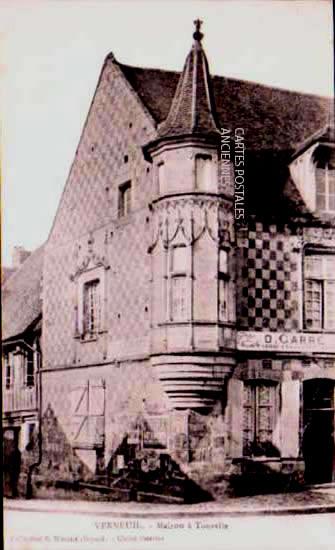 Cartes Postales Anciennes  Verneuil Sur Avre