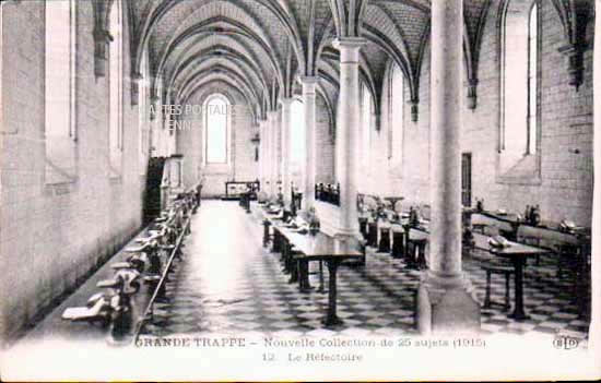 Cartes Postales Anciennes  Soligny La Trappe