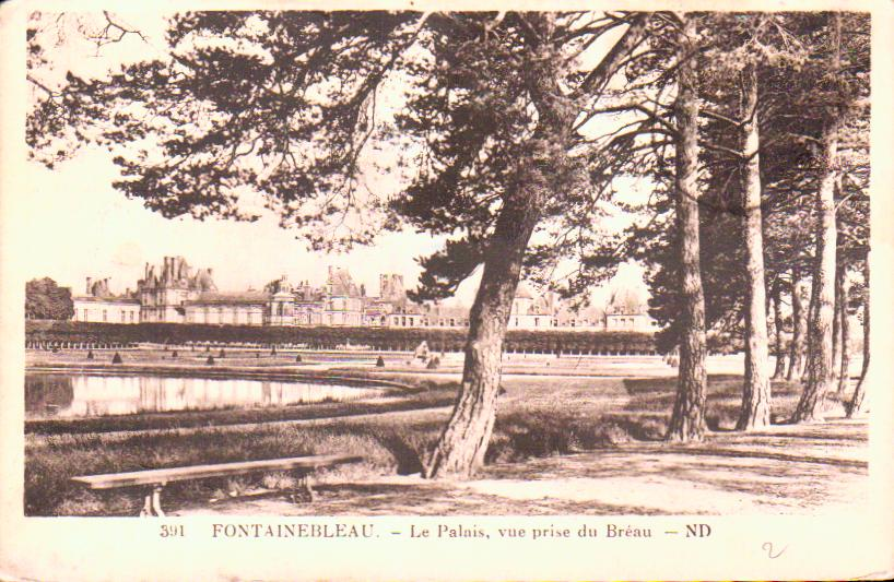 seine et marne  Fontainebleau