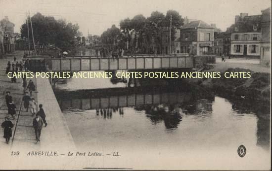 Old postcards abbeville france Abbeville