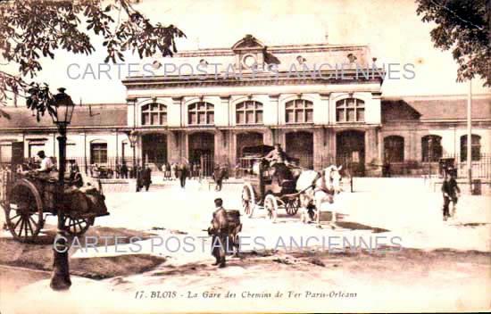 Cartes Postales Anciennes  Blois