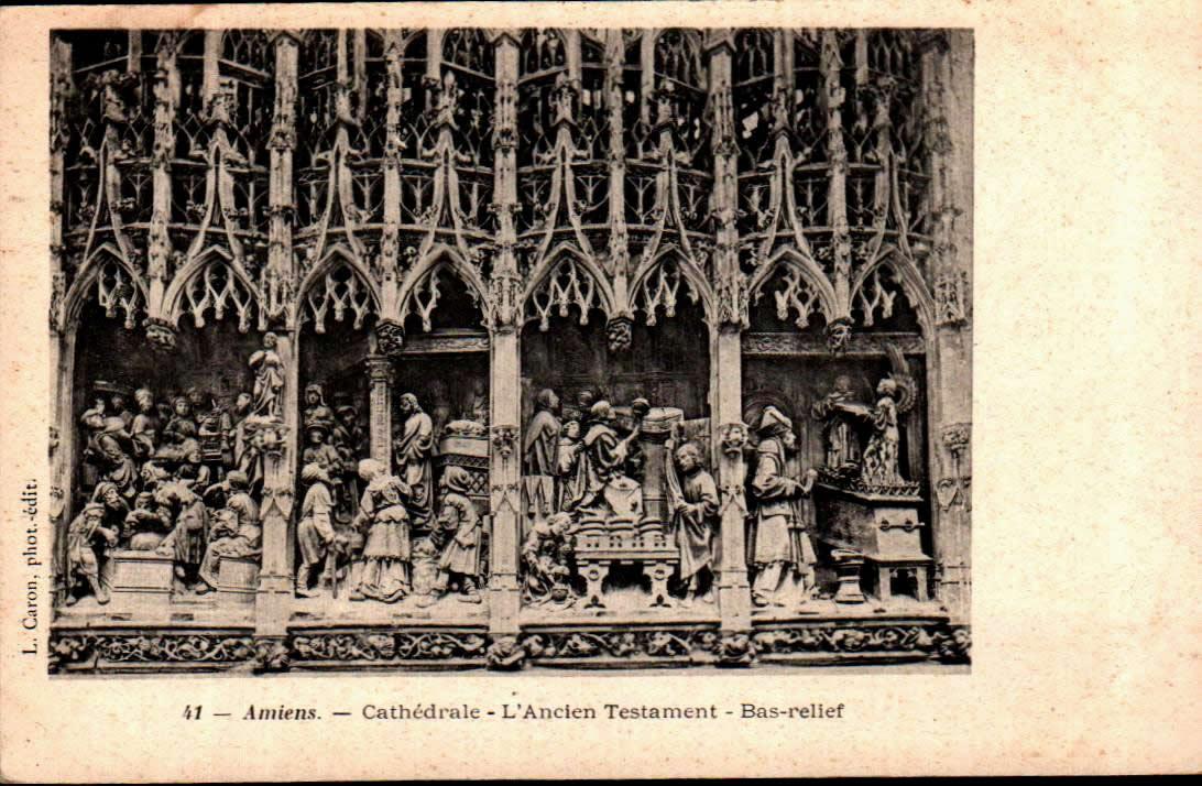 Cartes Postales Anciennes  Amiens