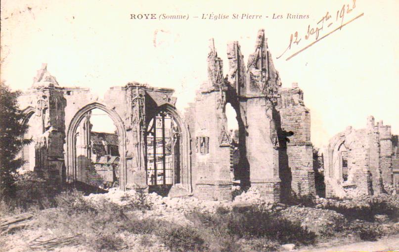 Cartes Postales Anciennes  Roye