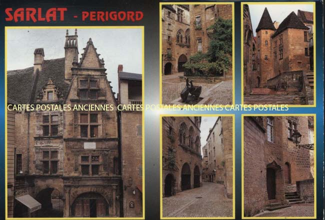 Cartes Postales Anciennes Dordogne  Sarlat La Caneda