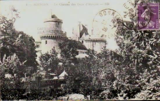 Cartes Postales Anciennes  Alencon