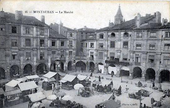 Cartes Postales Anciennes Tarn et garonne Montauban