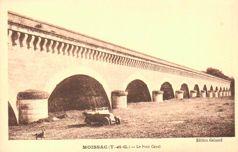 Cartes Postales Anciennes Tarn et garonne  Moissac