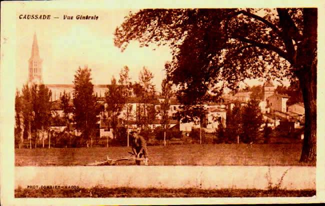 Cartes Postales Anciennes Tarn et garonne  Caussade