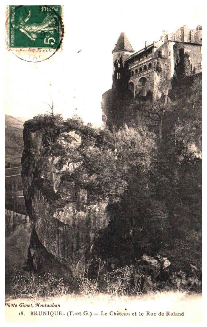 Cartes Postales Anciennes Tarn et garonne  Bruniquel