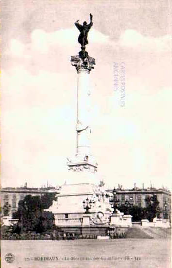 Cartes Postales Anciennes  Bordeaux