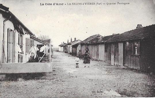 Cartes Postales Anciennes Var Les Salins D Hyeres
