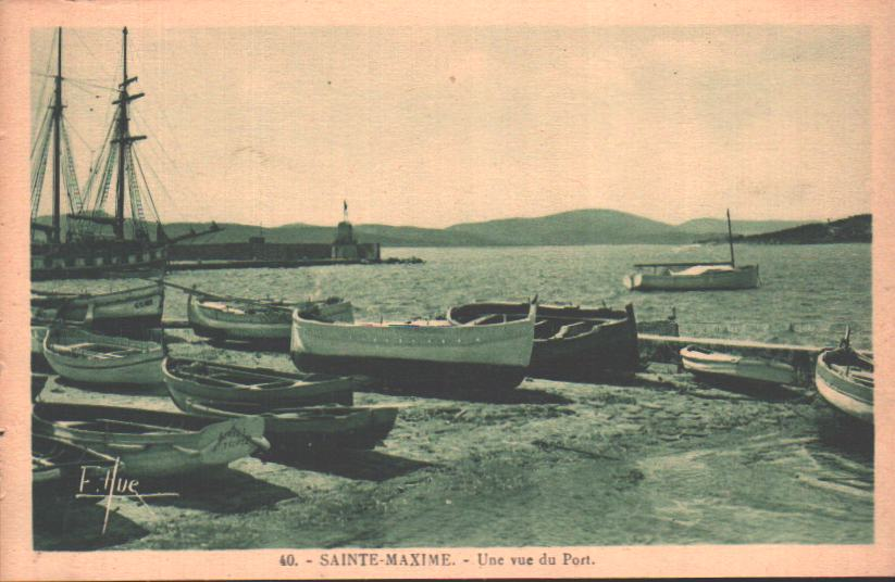 Old postcards sainte maxime france Ste Maxime