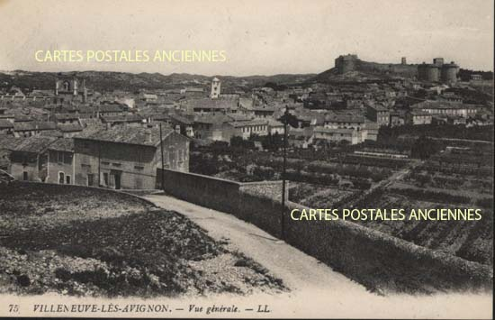 Cartes Postales Anciennes  Villeneuve Les Avignons