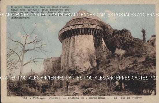 Cartes Postales Anciennes  Tiffauges