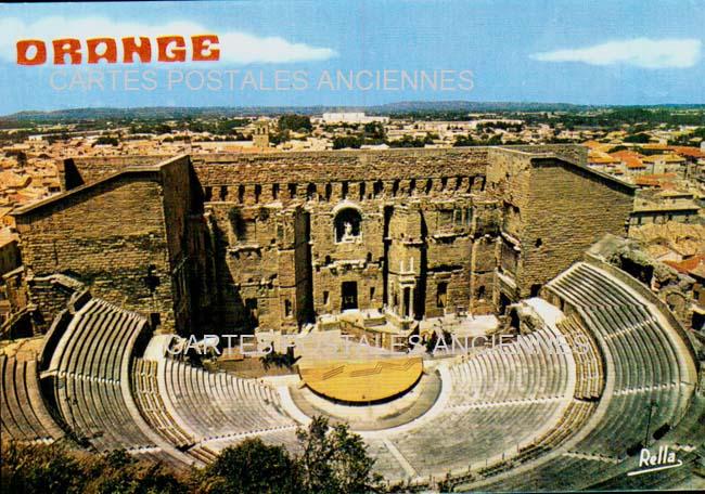 Cartes Postales Anciennes  Orange