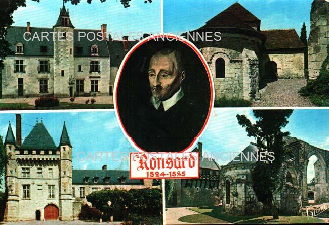 Cartes Postales Anciennes  Talcy