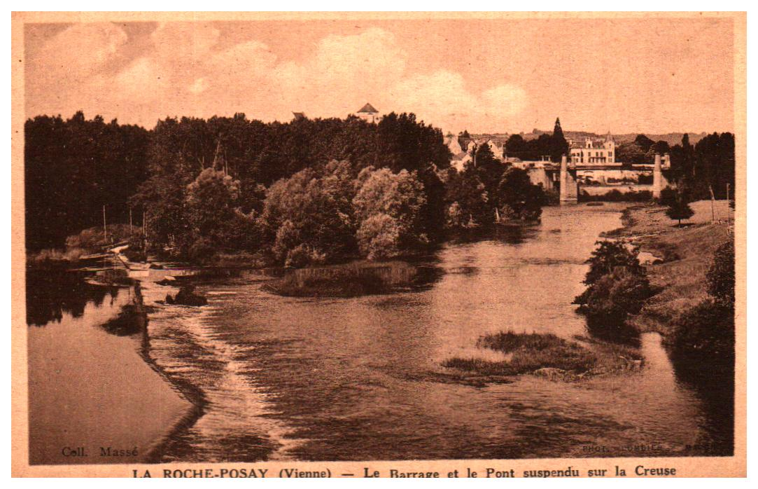 Cartes Postales Anciennes Vienne  La Roche Posay