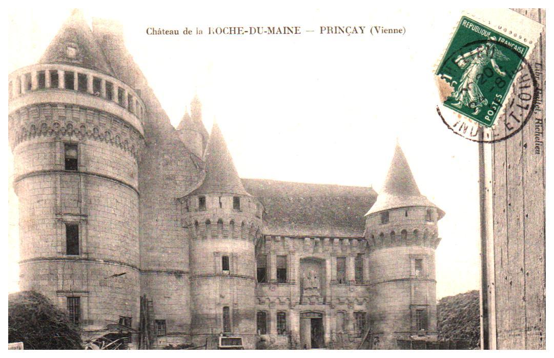 Cartes Postales Anciennes Vienne  Princay