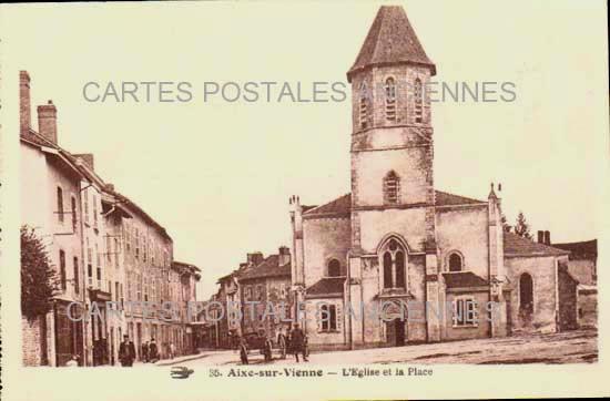 Old postcards aixe sur vienne france Aixe Sur Vienne