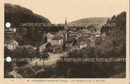 Cartes Postales Anciennes  Plombieres Les Bains