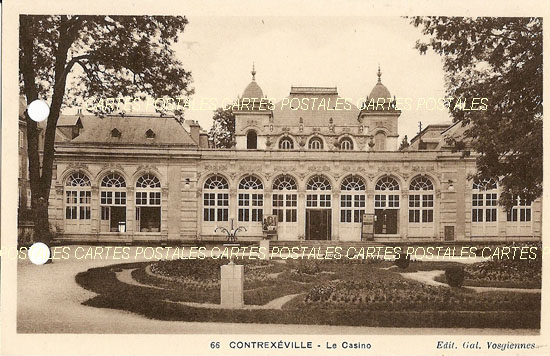 Cartes Postales Anciennes France  Contrexeville