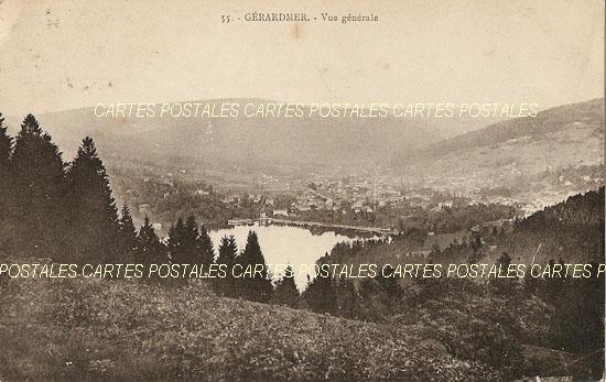 Cartes Postales Anciennes France Vosges  Gerardmer