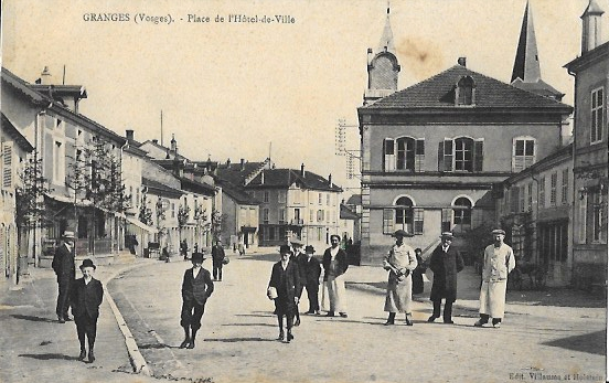 Cartes Postales Anciennes Vosges Granges De Plombieres