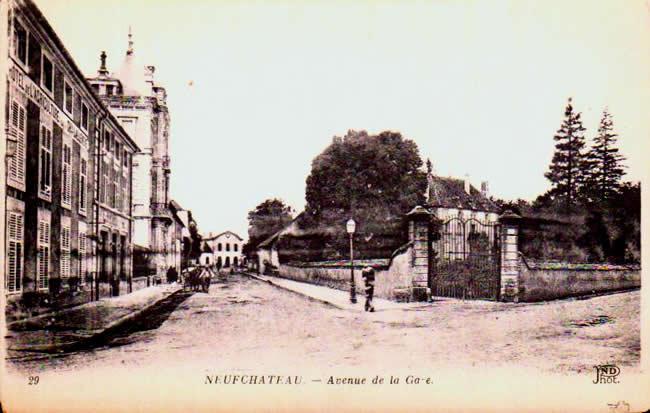 Old postcards neufchâteau france Neufchateau