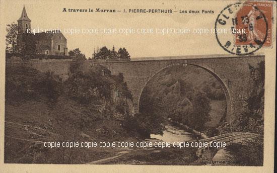 Cartes Postales Anciennes Yonne  Pierre Perthuis