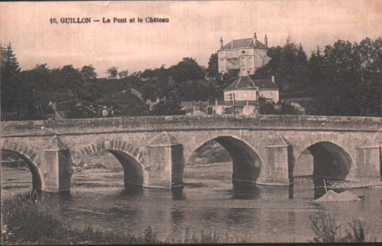 Cartes Postales Anciennes  Guillon