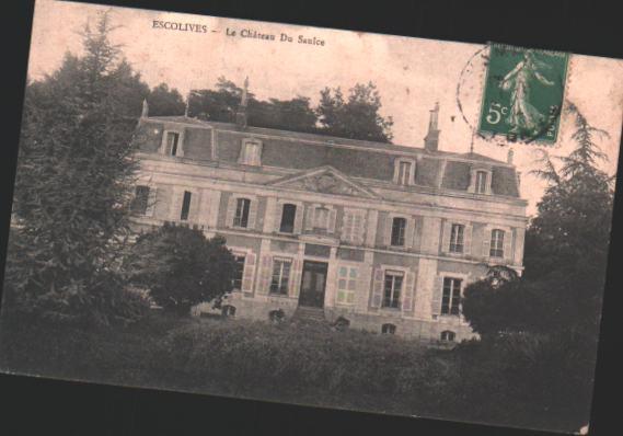 Cartes Postales Anciennes  Escolives Ste Camille