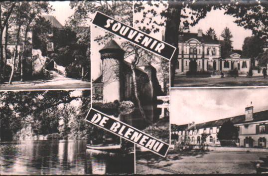 Cartes Postales Anciennes France  Bleneau