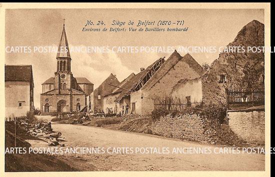 Cartes Postales Anciennes  Bavilliers