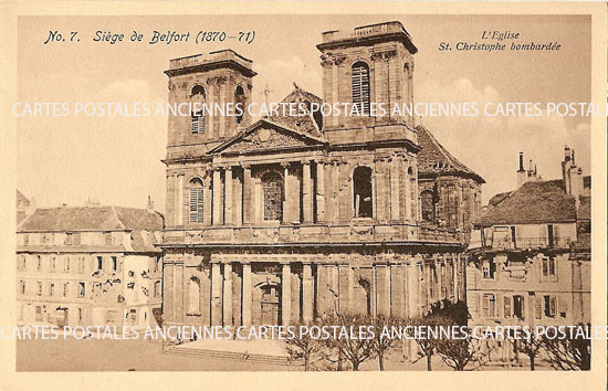 Cartes Postales Anciennes  Belfort